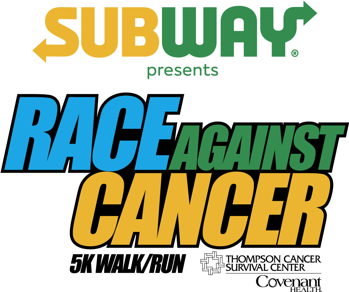 2017 SUBWAY Race Against Cancer logo