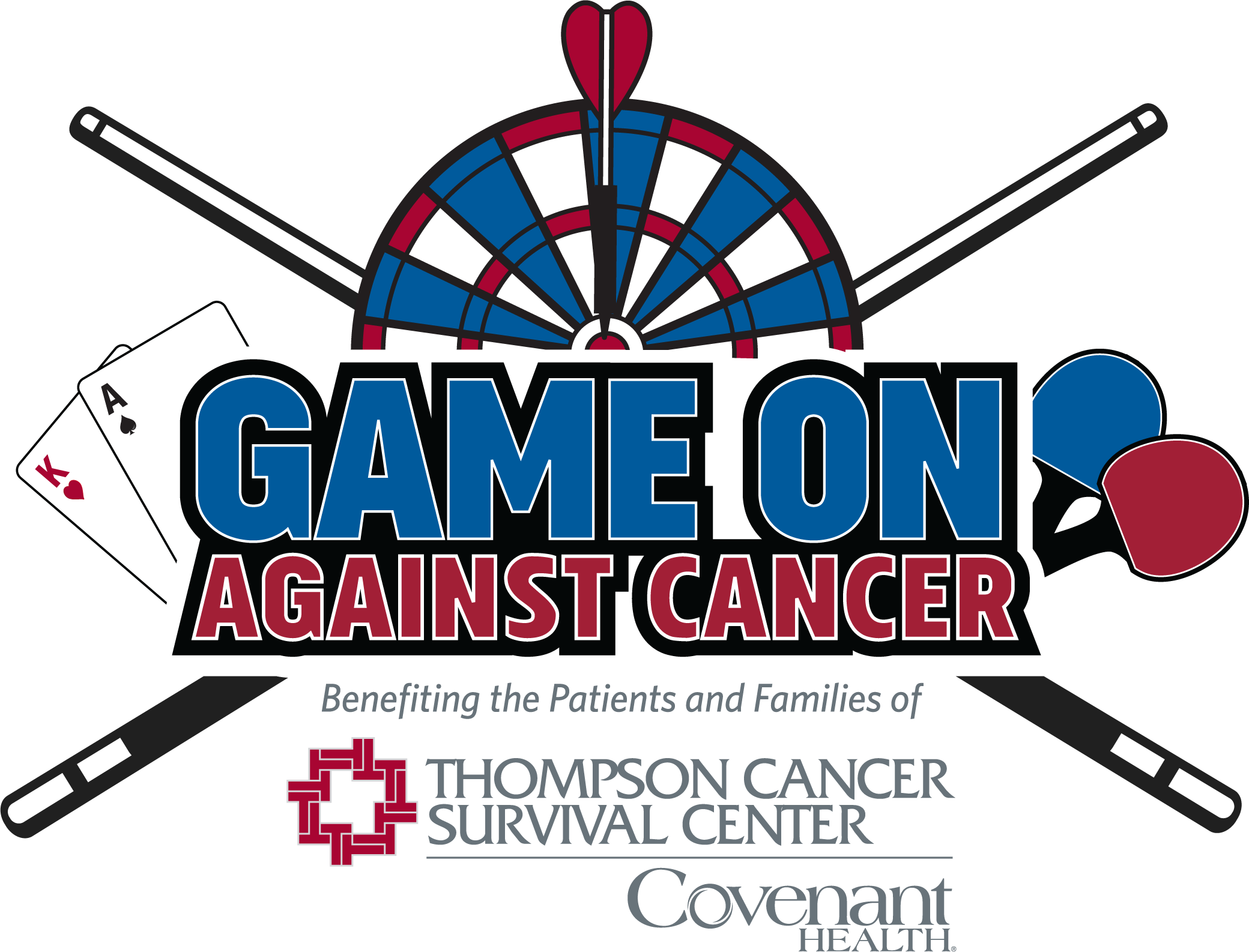 2019 Game On Against Cancer Logo