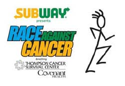 Subway Race Against Cancer